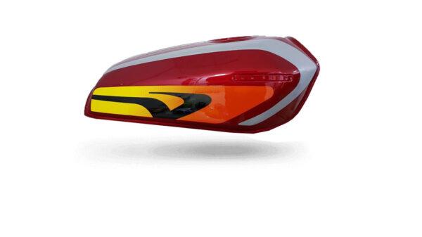 قرمز-خاکستری-CDI-باک-موتور